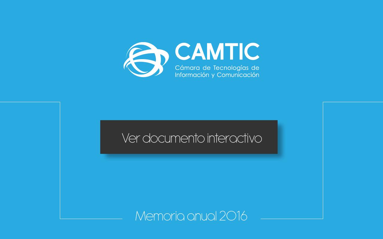 Memoria 2016 CAMTIC
