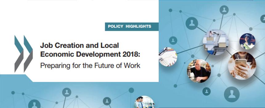 Riesgos de automatización del trabajo varían mucho entre diferentes regiones de los países, afirma la OCDE