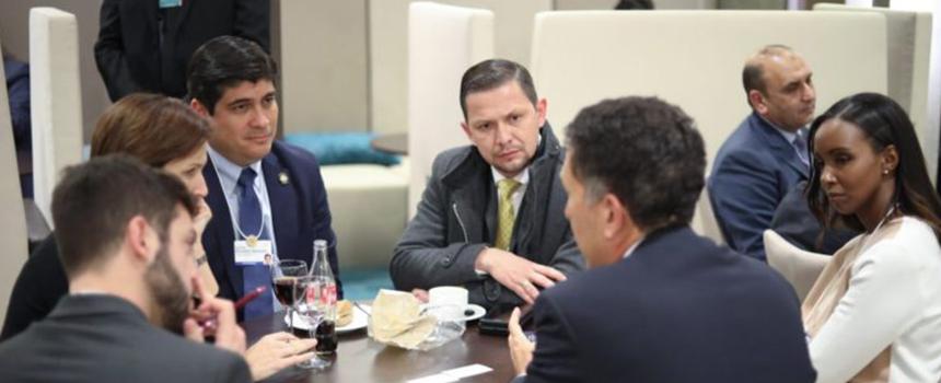 CAMTIC satisfecha con participación de Costa Rica en Foro Económico Mundial
