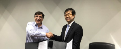 CAMTIC firmó memorándum de entendimiento con Consorcio CCTV de Corea