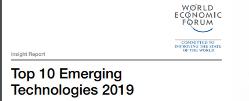Foro Económico Mundial presentó las mejores tecnologías emergentes de 2019