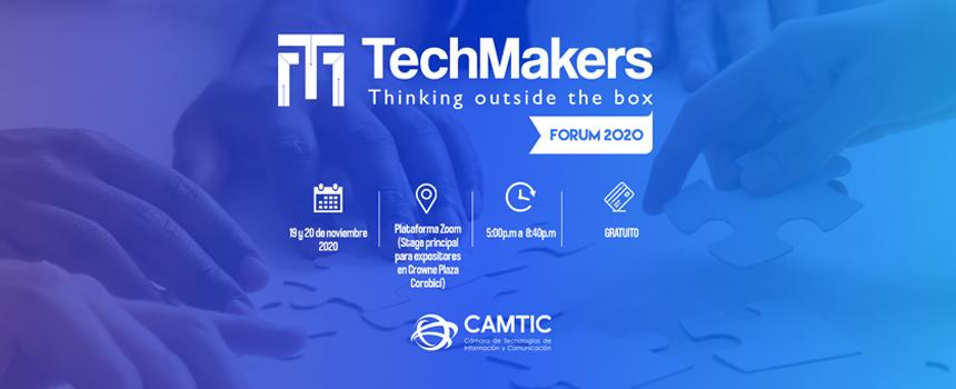Foro TechMakers 2020 tratará temas como ciencias de datos, mercadeo digital y computación en la nube