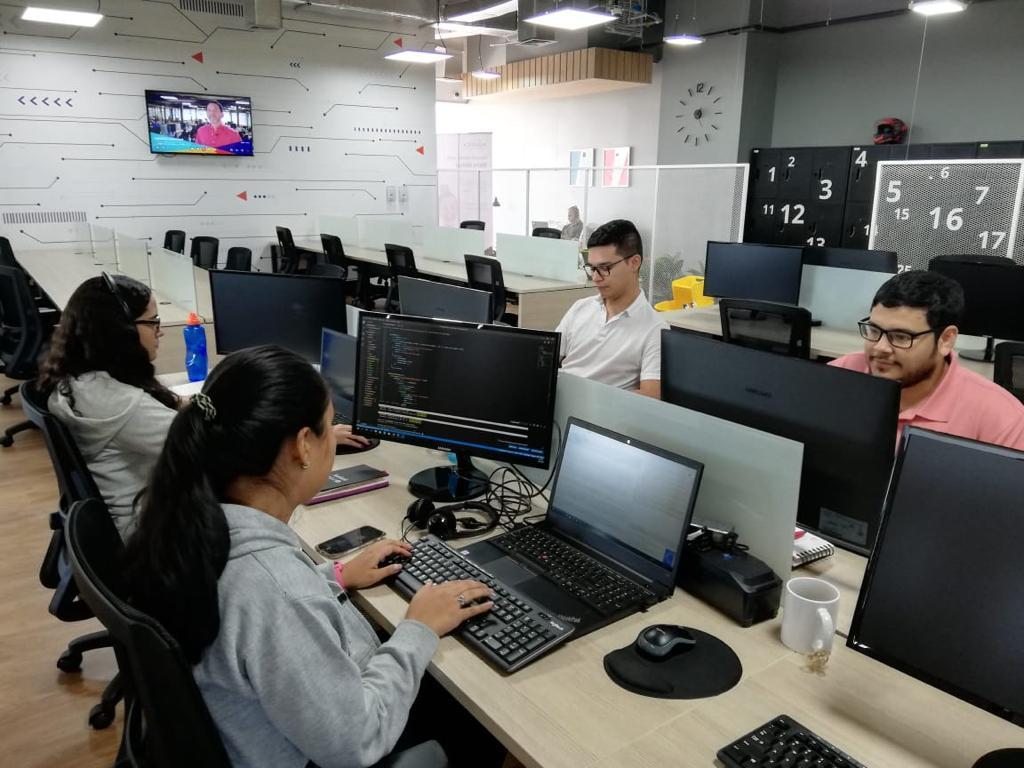 Centro de desarrollo de Avantica, inaugurado en febrero pasado en Cali, Colombia.