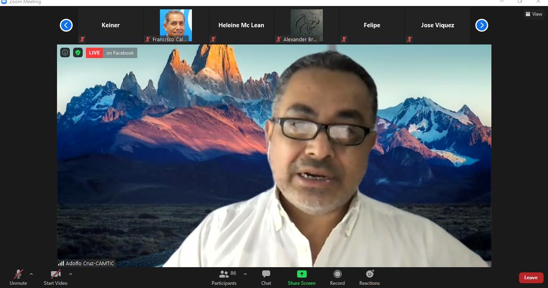Adolfo Cruz es directivo de CAMTIC y coordinador del Capítulo de IoT y 5G.