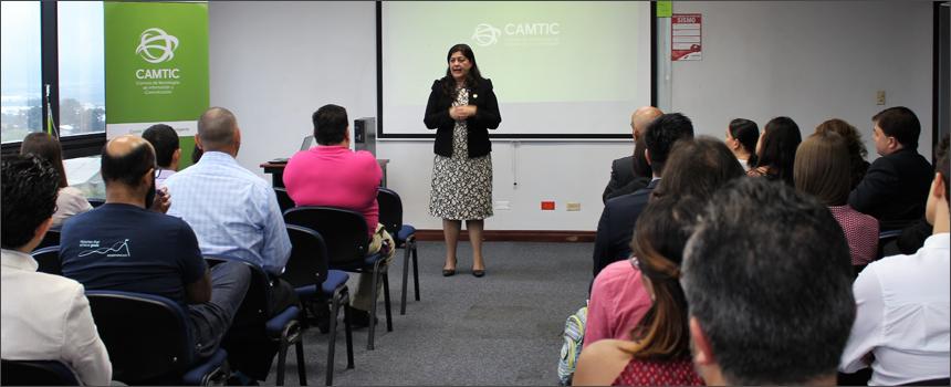 CAMTIC realizó charla informativa sobre Scale Up y cómo concursar a fondos no reembolsables PROPYME