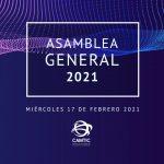 Asamblea General Ordinaria CAMTIC 2021