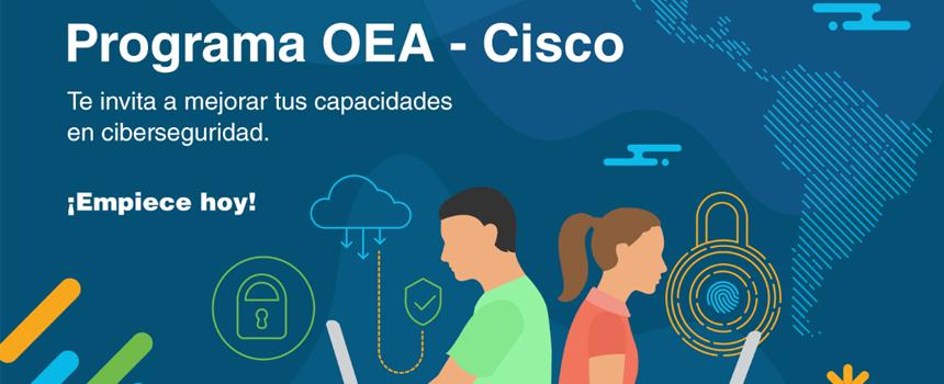 Cisco y OEA anuncian fondo para financiar proyectos de innovación en ciberseguridad para Latinoamérica